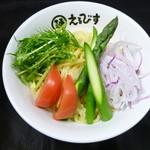 えるびす - つけめん三昧彩野菜