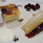 ラブレー - デザート2種①