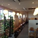 レストラン岡崎 - 店内