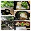 茶店はしもと - 料理写真:京都美山のバイクツーリングの帰り。佐々里峠越えを楽しんで、次の花背峠の前に渓流沿いの茶店で山菜そば。天ぷらで出てくるとは思わなかったけど、美味しかった。