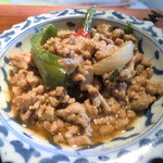 Sawadee Lemongrass Grill - 日替わりの豚ひき肉バジル炒め