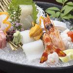 和風厨房 りゅう扇 - お造り盛り合せ  1,680円