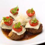 和風厨房 りゅう扇 - 和風チーズハンバーグ 735円