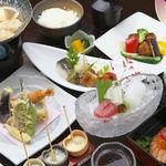 和風厨房 りゅう扇 - 【晩ごはん】グルメコース(小鍋付) 3500円