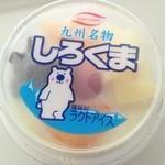 アイスクリーム中村乳業 - 料理写真:夏はしろくま!