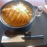 20193870 - 「ミソキッチンの野菜味噌ラーメン」(1080円)+「ポークカツトッピング」(350円)