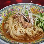 ラーメンの店 大吉 - 料理写真:冷やし担々麺(2013年7月)