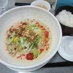 剣閣 - ・「豆乳冷やし坦々麺(\800)」