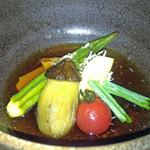 BRASSERIE 佐くら - 夏野菜の焼きびたし