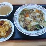 餃子の王将 - 中華丼セット