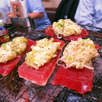 さかなの台所 オリエンタル - 七輪焼き おまかせ4種盛り1480円