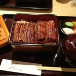 うなぎ 落合 - 鰻重•松 ¥3,600-