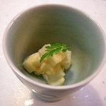 柚の木 - 鳥海山も山うどの辛し酢味噌和え