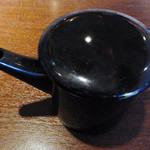 土の香 - 蕎麦湯