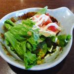 土の香 - ランチ付属のサラダ
