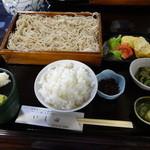 いし田 - 天ざる定食¥1700