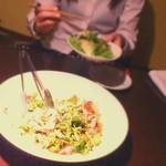 中国料理酒家 中 - 豚しゃぶサラダ。美味しかった!