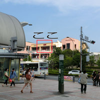 パパゲーノ - 南大沢駅改札口を出てバスターミナルへ向かうと正面にフォレストモールが見えます