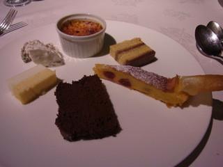 Gourmet et 5 Sence - 私が頼んだデザート