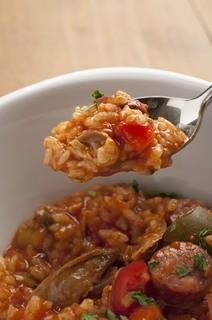 """シロッコ - 鶏肉とアサリのスペイン風雑炊 """"カルドッソ"""""""