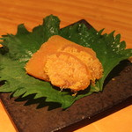 石臼挽き手打 蕎楽亭 - 自家製からすみ(粕) (2013/07)