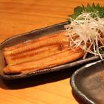 石臼挽き手打 蕎楽亭 - 煮穴子 (2013/07)