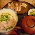 忍庵 - ふわふわ卵丼(*´ω`*)