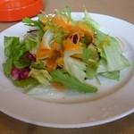さんれーく - 日替わりランチのサラダ
