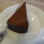 炭焙き珈房 るびあ - チョコレートケーキ