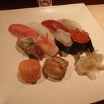 万葉 - 握り寿司特上
