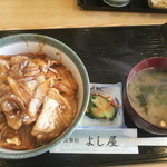 食事処よし屋 - 料理写真:豚丼