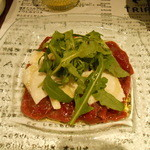 トリッペリア トリッパ - 馬肉のカルパッチョ