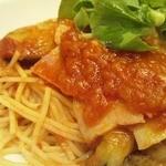 ダッキーダックカフェ - 130723 夏野菜とマスカルポーネチーズのトマトソース