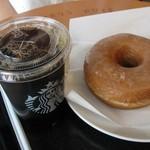 スターバックス・コーヒー - ドーナッツにコーヒー!ベストなコンビ?