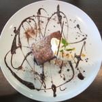 リスカフェ - ガトーショコラ 700円