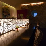 蕎麦 伊呂波 - 蕎麦屋さんとは思えない、近代的な空間ですね!