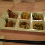 赤坂 四川飯店 - 四川友の会2013で出された前菜です。