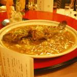 赤坂 四川飯店 - 四川友の会2013で出された魚の旨煮です。もちが入っています。