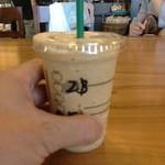 スターバックス・コーヒー - コーヒーフラペチーノは¥420である
