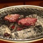 亀楽 - 和牛さがり焼き焼き~