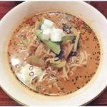 チャイナRai 中国料理 - 冷し坦々麺 \950 麺とスープはもちろん、器と具までひえひえ♪