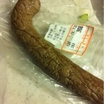 大木の肉屋 - レバーペースト(253円/100g)1本の重さ120g程度
