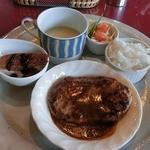 レストランロア - ハンバーグプレート