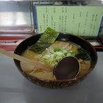 手打ちラーメン 麺工房 高砂 - しょうゆ(¥700)