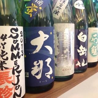 日本酒好きの店長が厳選し取り寄せた地酒