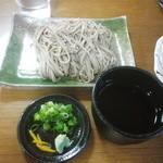 ドライブイン山里 - 川南谷そば(皿盛り)