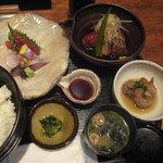Chisoukoujiya - 刺身・煮物御膳