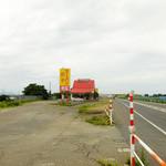 原宿ラーメン - 外観 新潟市方面から三条市方面へ
