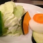 焼肉美味しんぼ - 最初の野菜