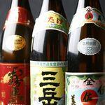 鳥響 - 焼酎の他にもワインや梅酒なども取り揃えております。